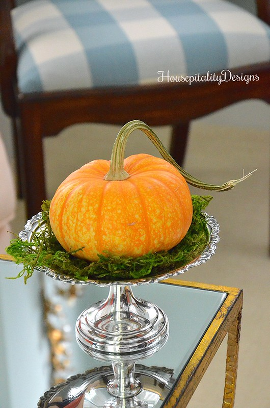 Silver compote - Pumpkin - Housepitality Designs