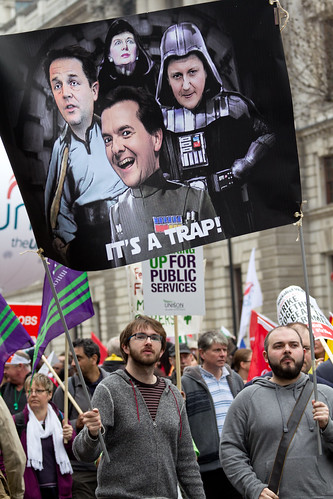 TUC Demonstration | by Sean Hicks