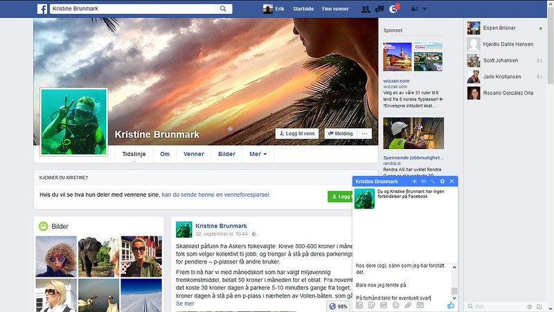kristine brunmark facebook