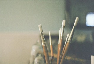 Paint Brushes | by sophielinberard
