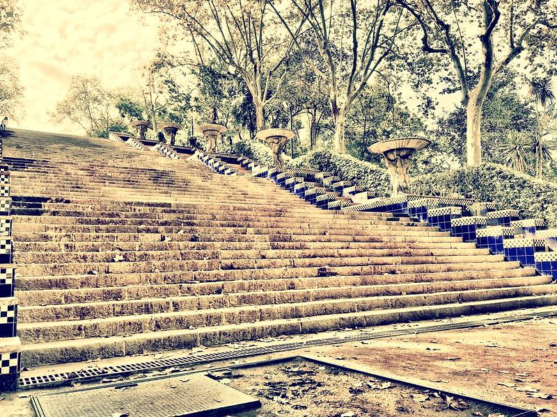 Parc de Olimpico Stairs