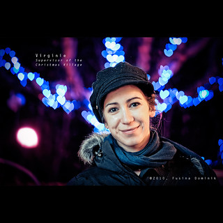 Day 108 - Virginie, supervisor of the Christmas Village | by dominikfoto