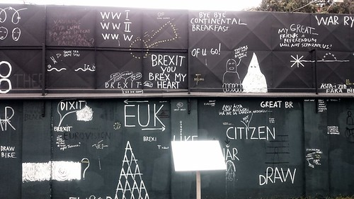 Political engaged graffiti