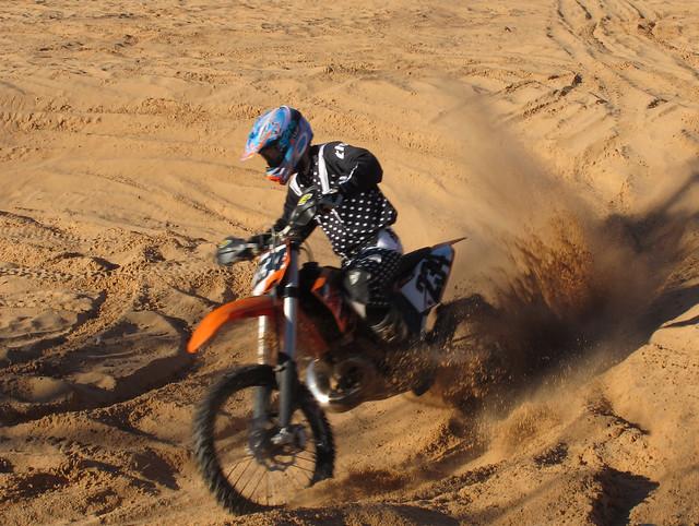 Sahara dirt bike