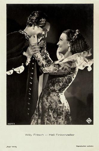 Heli Finkenzeller and Willy Fritsch in Boccaccio (1936)