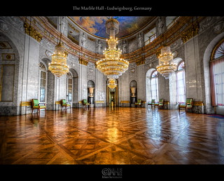 The Marble Hall - Ludwigsburg, Germany (HDR) | by farbspiel