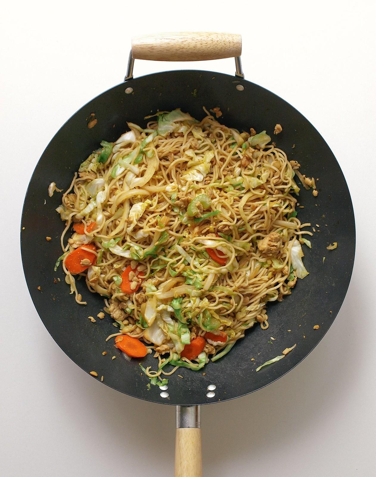 Tempeh Chow Mein