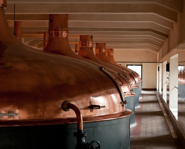Pilsner Urquell Brewery, Plzeň Czech Republic