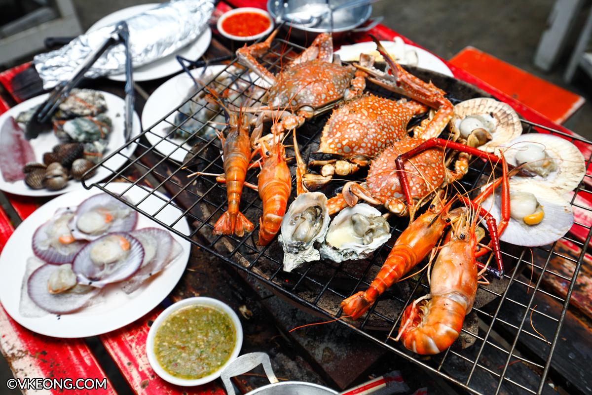 Mangkorn BBQ Seafood Buffet Bangkok