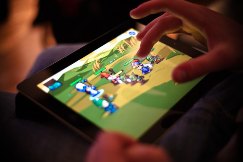 iPad Gaming | by michaelnugent