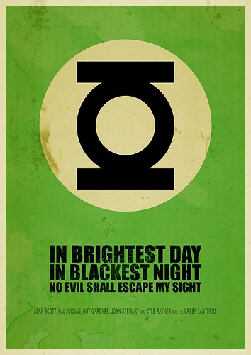 In brightest day in blackest night no devil shall escape my sight | by Itomi Bhaa