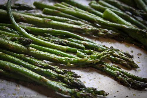 Oven-Roasted Asparagus | by Kim | Affairs of Living