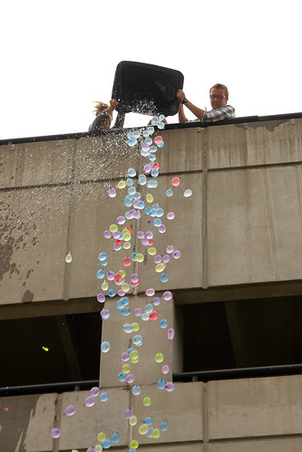 Jordan Kendrick's 1000 Water Balloons Art Project | by UT-Chattanooga