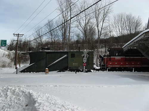 Plow extra at Thomaston | by Naugatuck Railroad