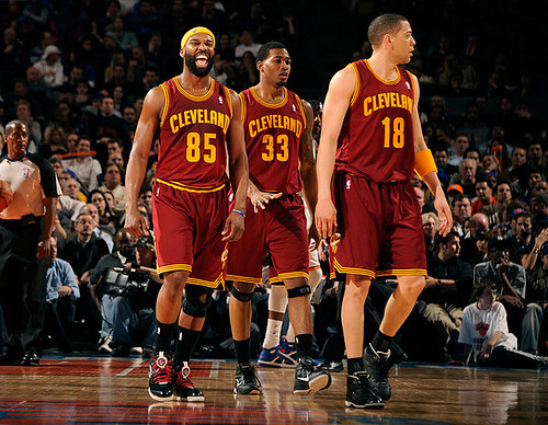 Cavs Celebrate the Win at Madison Square Garden | by Cavs History