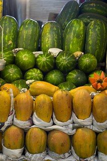 Watermelons and papayas | by arimou0