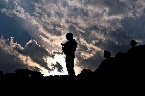 Afghanistan sunset | by The U.S. Army
