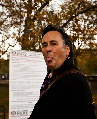 Ian Puddick Says What He Thinks of City Of London Police at Speakers Corner | by ianpuddick