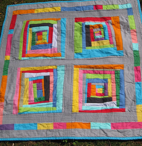 Rainbow Cabins Quilt | by Ellison Lane