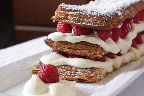 raspberry napoleon | by Madison Bistro