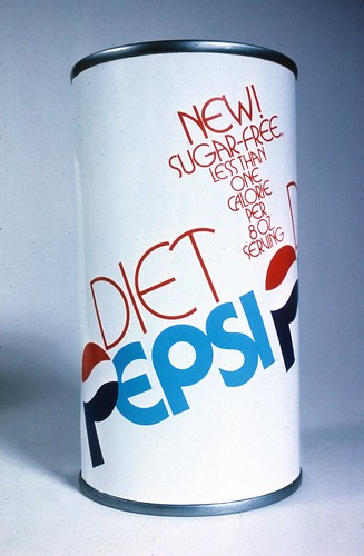 Proposed design for the Diet Pepsi can | by Herb Lubalin Study Center