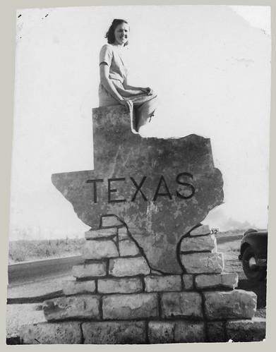 Woman on Texas