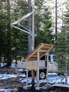 Completed off-grid weather station | by ewalstad