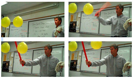 Like Charges Repel | by The Physics Classroom