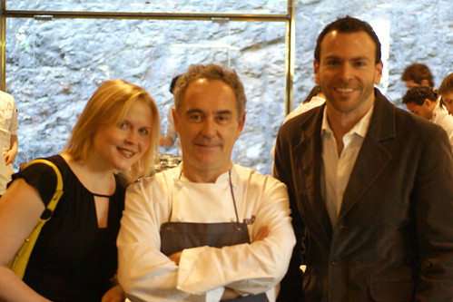 Catherine and Gareth with Ferran Adria at El Bulli Restaurant Menu (6) | by yumcat