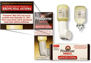 Primatene Mist With Chlorofluorocarbons No Longer Available After Dec. 31, 2011 (Products) | by The U.S. Food and Drug Administration