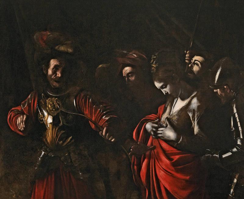 Martirio de Santa Ursula - Caravaggio