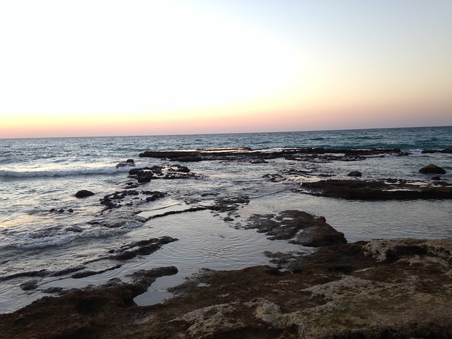 Lagoons in Achziv beach
