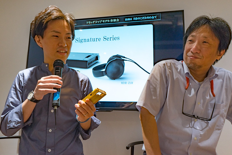 SONY Walkman Blogger Meeting