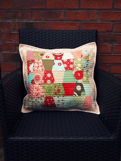 charm pack pillow | by ImAGingerMonkey