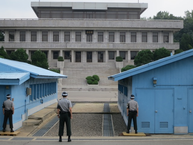 The Joint Security Area at the Demilitarized Zone (DMZ)-- Southern Side of the 38th parallel