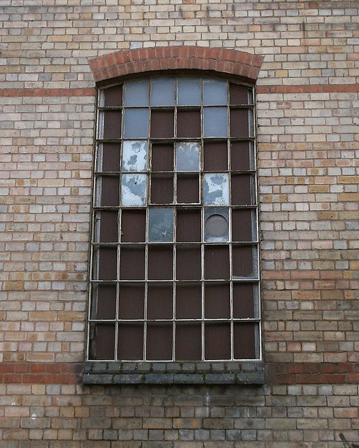 Wycombe warehouse window