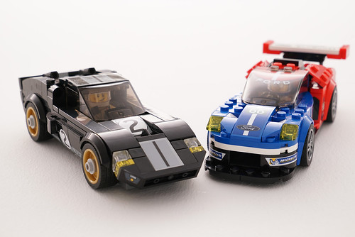 LEGO Speed Champions Ford GT 2016 & Ford 1966 GT40 (75881)