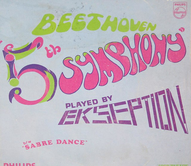 "Ekseption 5th Beethoven / Sabre Dance 7"" PS Single"