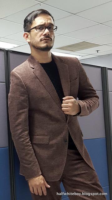 halfwhiteboy velvet suit and waffle sweater 05