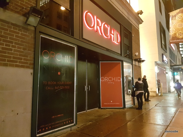Orchid nightclub entrance