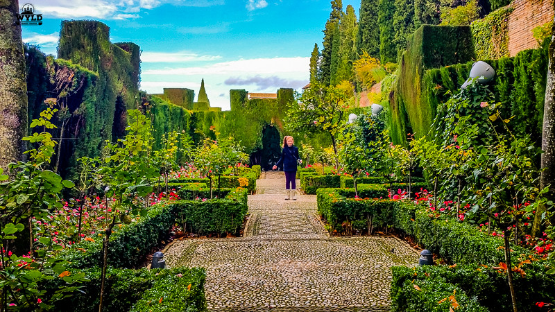 Generalife gardens alhambra granada spain wyld family for Generalife gardens