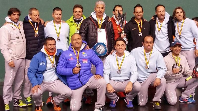 Entrena Campeón y Padelpoint La Nucía Subcampeón del Cto de España de Equipos Veteranos 3ra Categoría