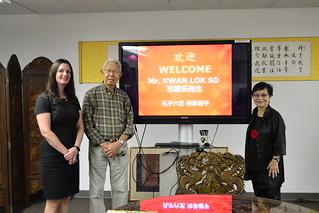 Oct 20 '16 Mr. Kwan Lok So Visit