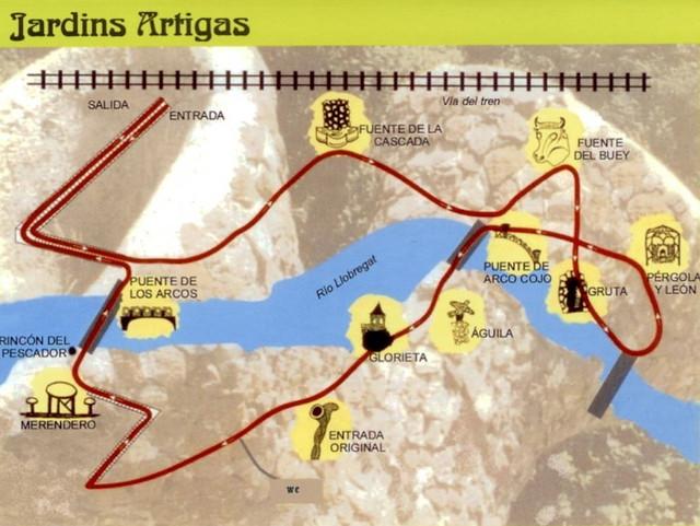 Jardins Artigas - Ruta 01