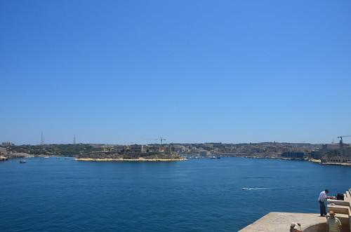 Hafenpanorama Valetta