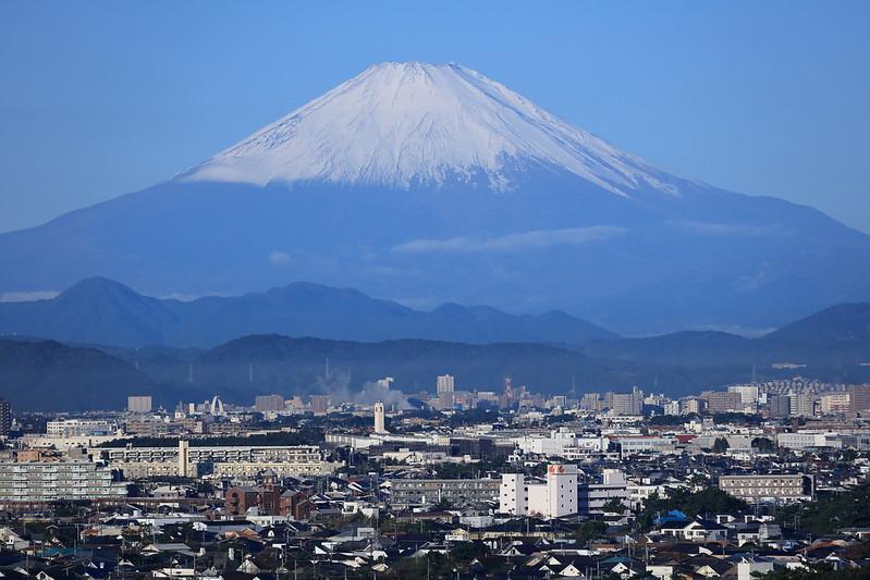 富士山 定点観測