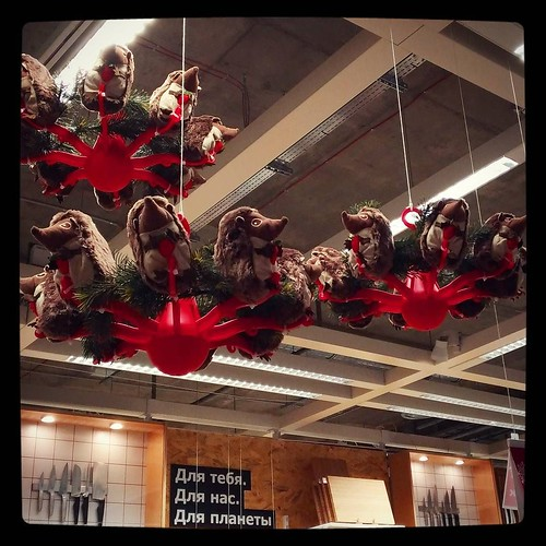Went to #IKEA to assist a friend - came back a changed man.. My eyes are opened to unlimited possibilities of NY decorations as a modern art form. For #365days project, 337/365