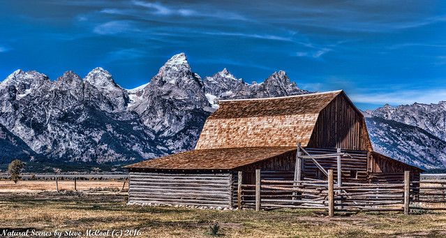 Moulton Barn at Grand Teton NP-1