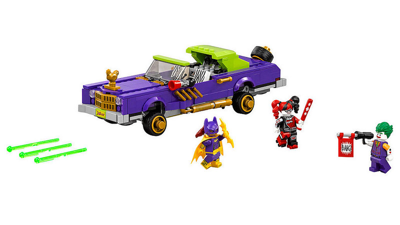 The LEGO Batman Movie - The Joker Notorious Lowrider (70906)