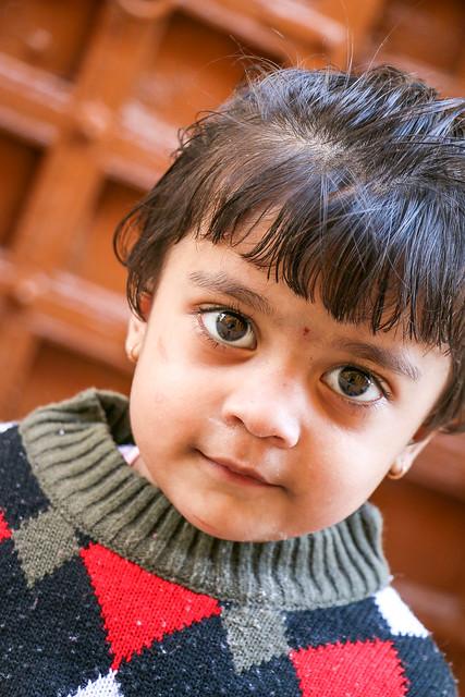 Beautiful eyed girl in Jaisalmer, India ジャイサルメール 瞳のきれいな女の子